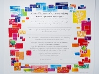 Conversion Certificate for Adult Female