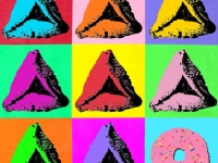 Hamentaschen pop art print