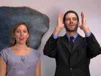 Shema Prayer: American Sign Language and Hebrew